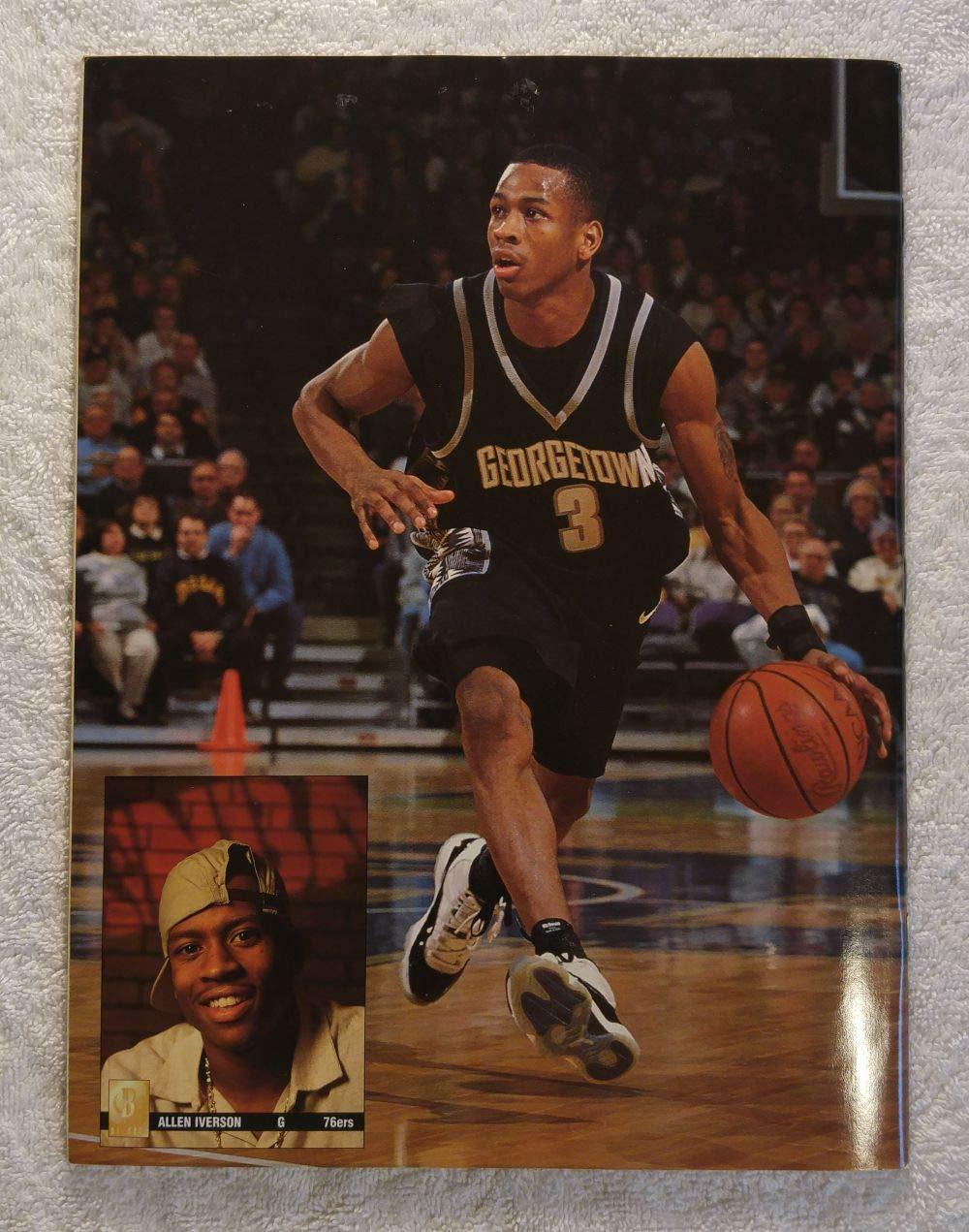 b59875844d39 Michael Jordan - Chicago Bulls - Beckett Basketball Monthly Magazine -  74  - September 1996 - Back Cover  Allen Iverson (Georgetown Hoyas) at Amazon s  ...