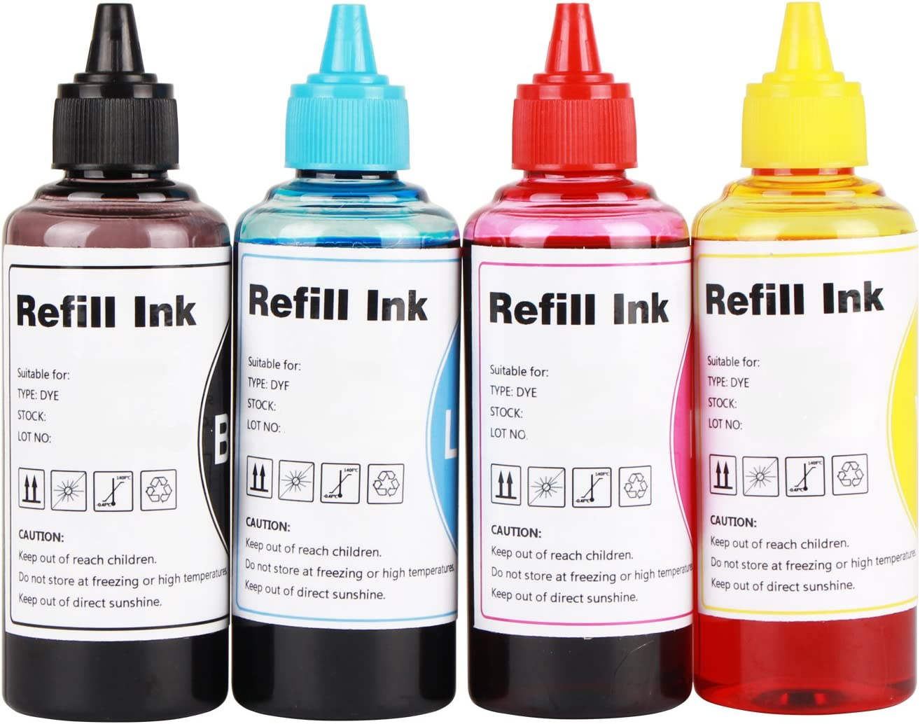 CoYlBod Refill Ink Kit for 950 951 950XL 951XL Officejet Pro 8100 8600 251dw 276dw 8610 8620 8630 8640 8650 8660 8515 8530 8615 8625 8635 8680 Printers, for Refillable Cartridges or CISS
