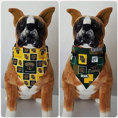 Baylor University Bears dog bandana