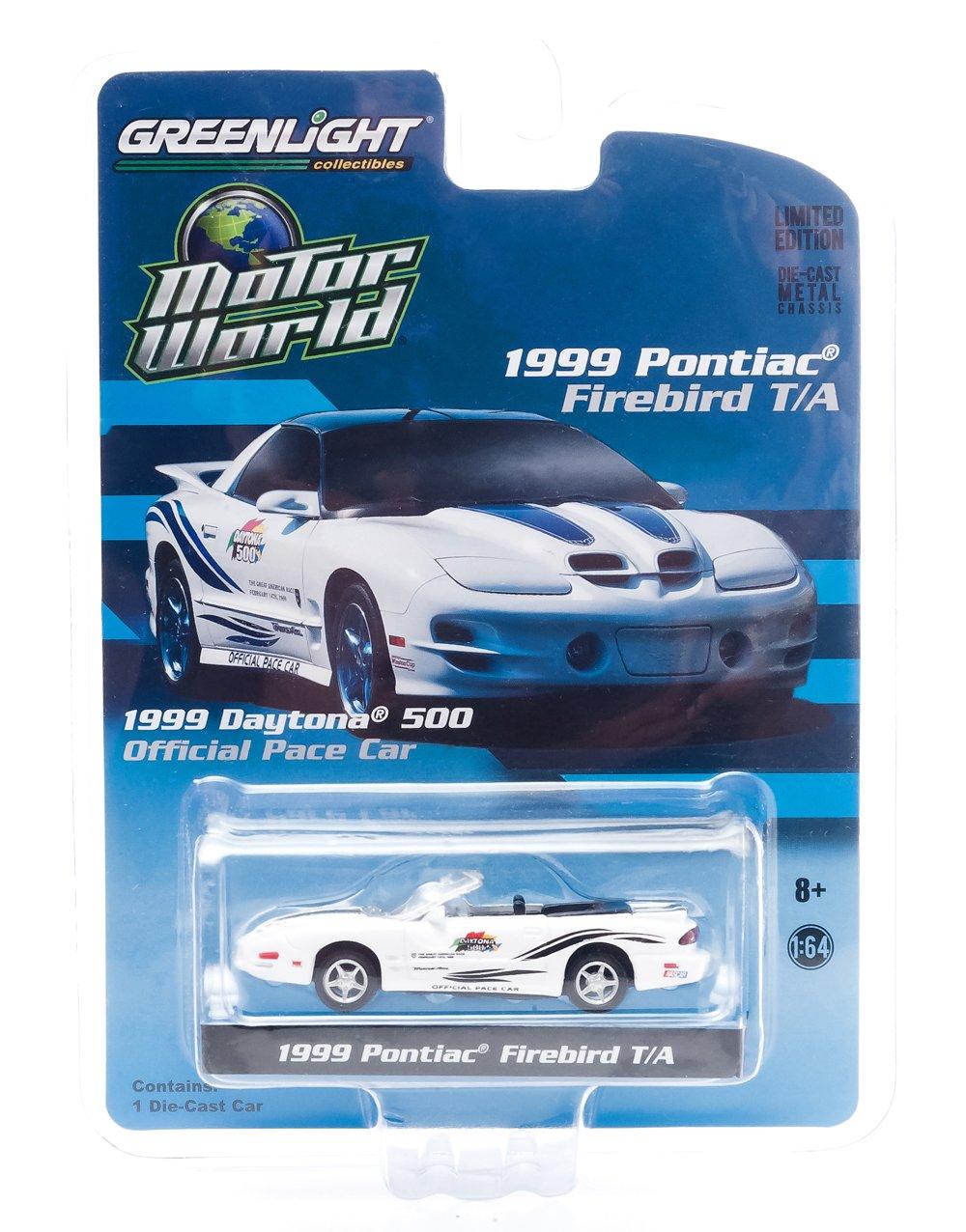 GrünLight 1999 Pontiac Firebird T/A Daytona 500 Pace Car (1:64 (1:64 (1:64 Scale) 9b0420