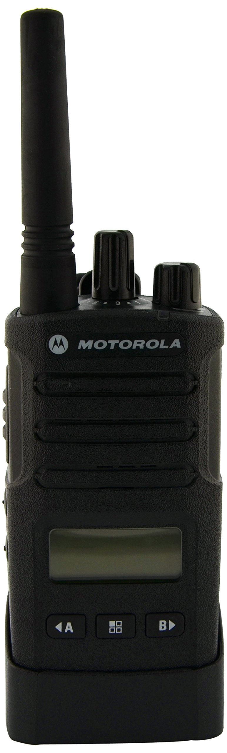 Motorola RMU2080D On-Site 8 Channel UHF Rugged Two-Way Business Radio with Display and NOAA (Black)