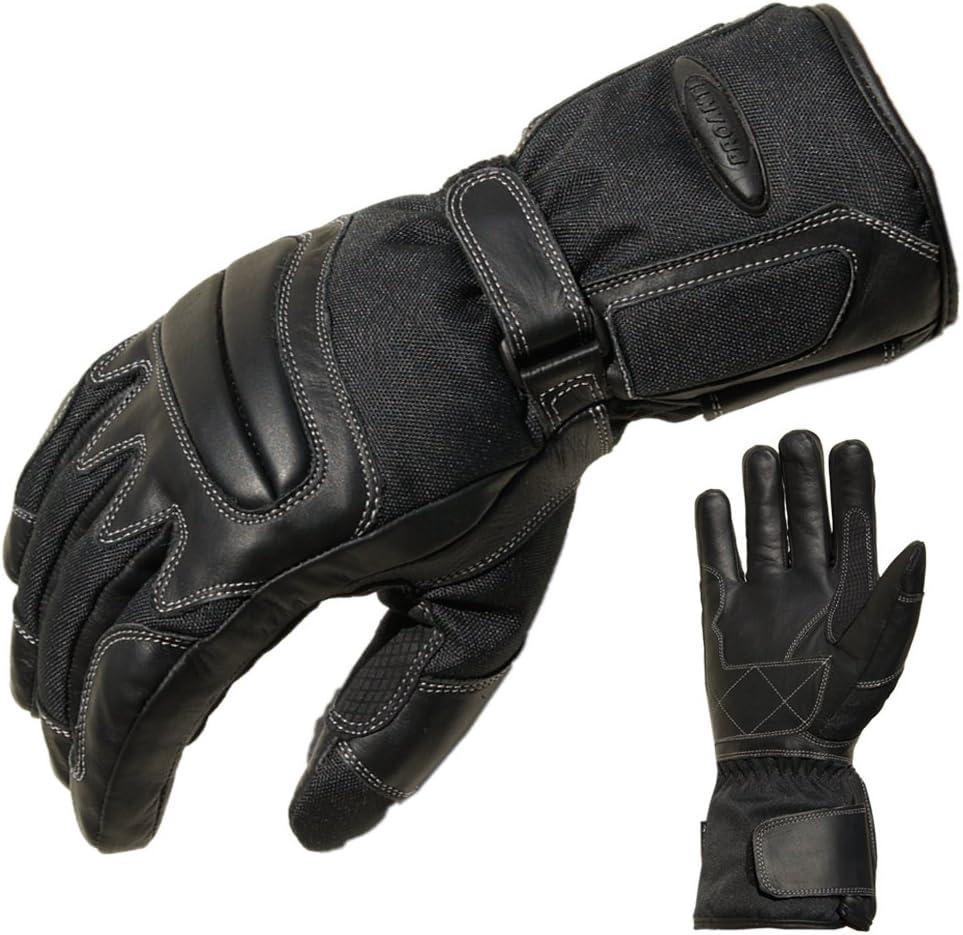 Proanti Motorradhandschuhe Regen Winter Motorrad Handschuhe Herren Damen Sport Freizeit