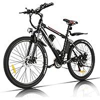 Vivi Bicicleta Eléctrica 350W, Bicicleta Eléctrica Montaña con Batería Extraíble de 36V/8Ah,…