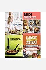 danielle walker's against all grain celebrations, nosh gluten-free, learn to cook wheat, gluten and dairy free and lose weight for good low fodmap diet for beginners 4 books collection set Paperback