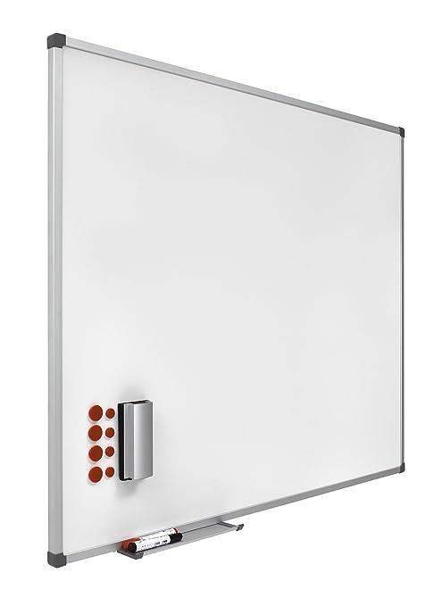 Pizarras blancas magnéticas vitrificadas - 1200x1000 mm ...
