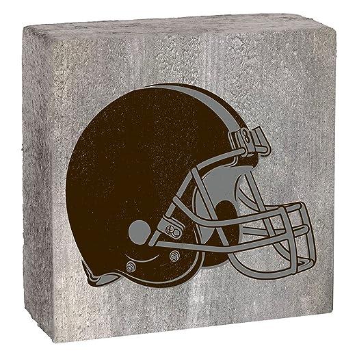 Amazon.com: NFL unisex logotipo de NFL bloque por Rustic ...