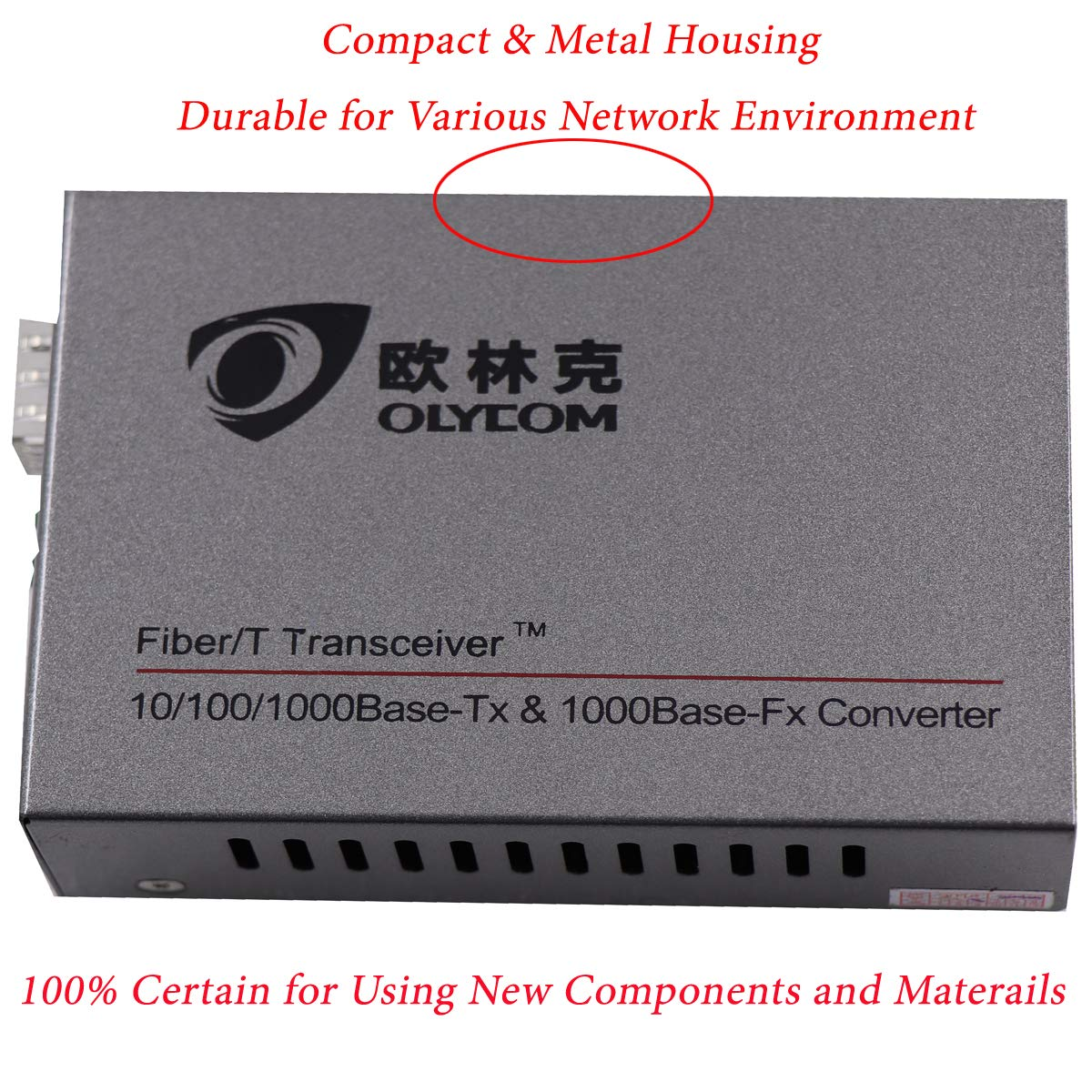 with 1.25Gb SFP Module. OLYCOM Gigabit Ethernet Media Converter Dual Fiber To Network Optical Transceiver,20Km