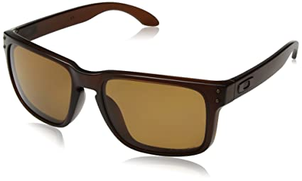 295d0b7a34129 ... sale oakley holbrook 9102 03 matte rootbeer bronze polarized sunglasses  f2f01 7bd92