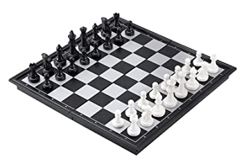 SUPER TOY Magnetic Chess Board Travel Game Set for Kids and Adults