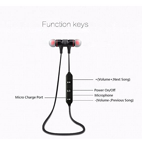 B400 Stereo Wireless Bluetooth Earphone Headphones With Mic Magnetic audifonos Bluetooth Headset Aur
