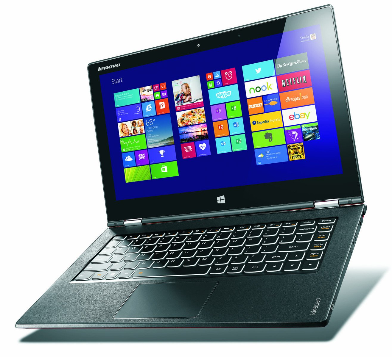 Amazon.com: enovo Yoga 2 Pro Ultrabook- Intel Core Haswell ...