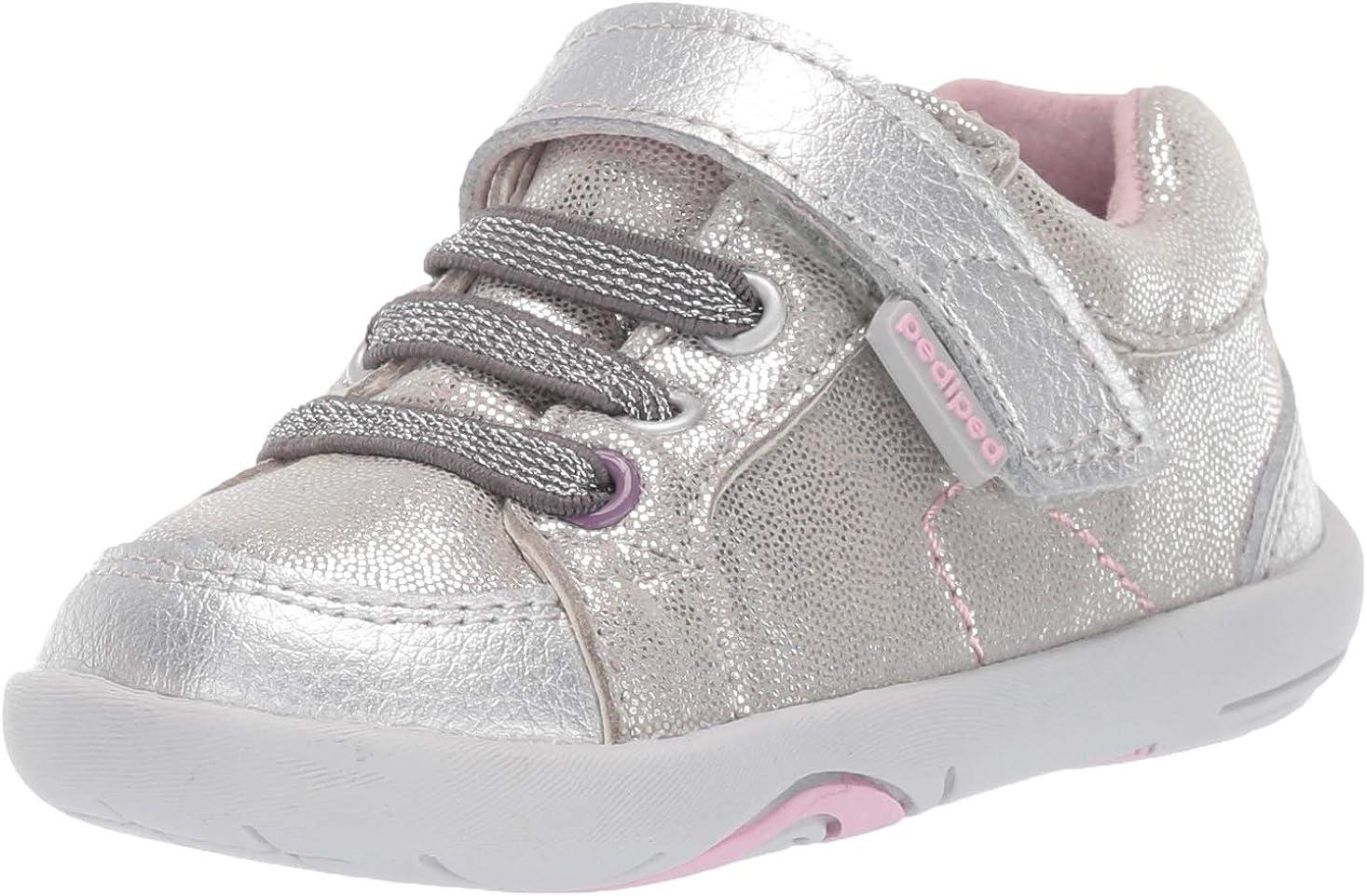 pediped Girls' Dani First Walker Shoe
