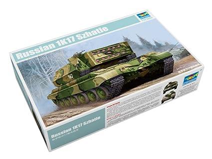 Amazon com: Trumpeter 1/35 05542 Russian 1K17 Szhatie: Toys & Games