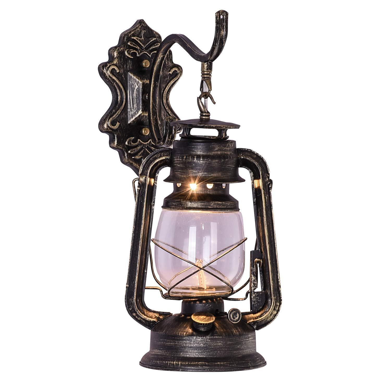 injuicy E27 Vintage retro Eisen Laterne-Lampen-Taschenlampe Wand Öl ...