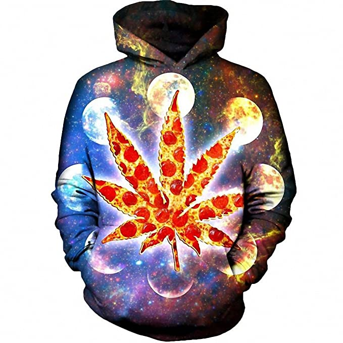 6f80366e58 Galactic Weed Space Galaxy Hoodie Hoodies Dropship hoodies men M at ...