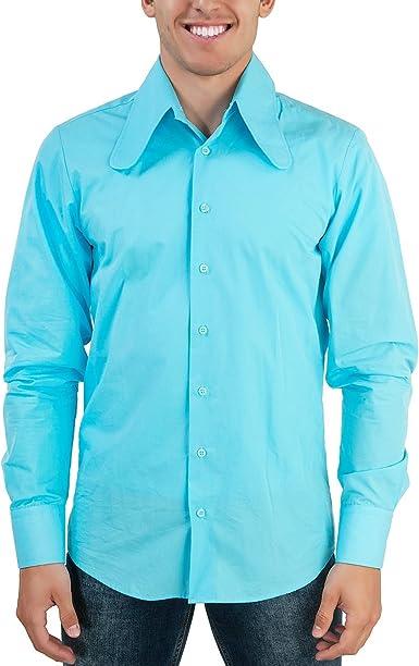 Perro Salchicha de oído Cuello 70 Camisa Color Azul Claro: Amazon.es: Ropa y accesorios