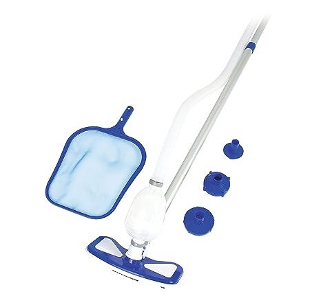 Bestway 8320455 8320455-Kit Limpieza, Azul 112x31x12 cm
