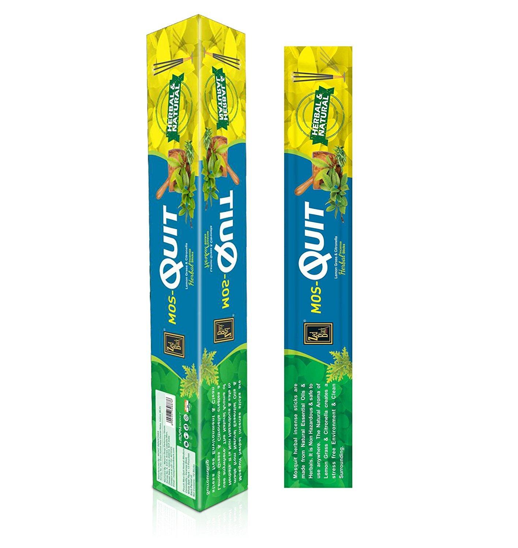 Mosquit Incense Sticks – 120ハーブスティック – Mosquito Repellent自然な香りSticks – 効果的な& worthy-madeから天然エッセンシャルオイル、ハーブ製品 – Scented Oil Sticks B07C91LX3K