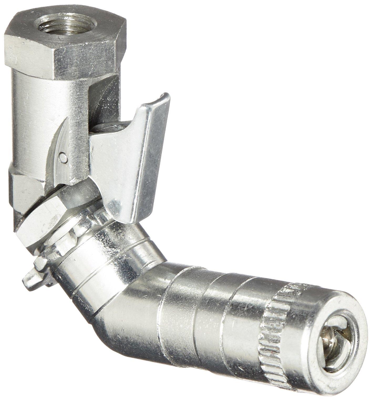 Alemite 6509-D Swivel Hydraulic Coupler, 1/8'' NPT(f)