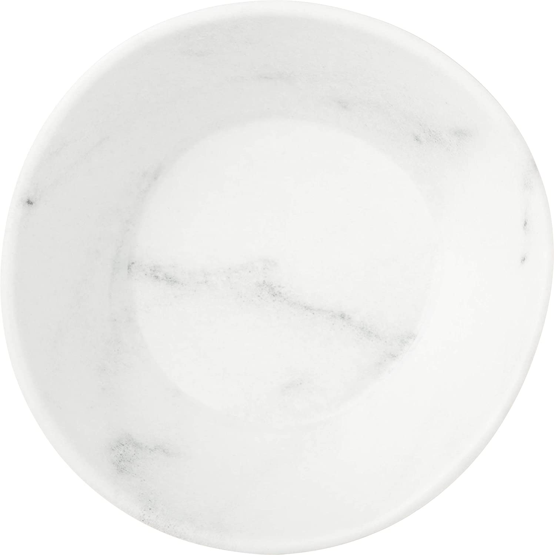 Carlisle 5310623 Ridge Melamine Salad Plate, 9', Cement (Pack of 12)