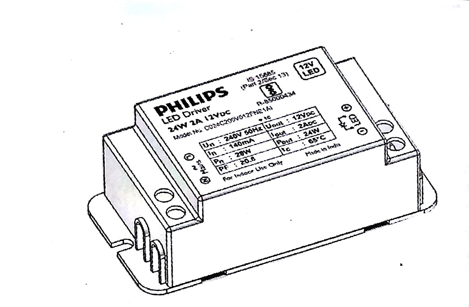 Buy Philips Linea Popular 31401 5m 25 Watt Strip Light Warm White Drawing Modern Electronic Circuit Security Concept Of Electronics Online At Low Prices In India