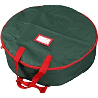 """Primode Supreme Polyester Holiday Wreath Storage Bag for 30"""" Wreaths"""
