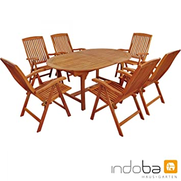Amazon.de: Indoba Gartenmöbel Set, 7-teilig \