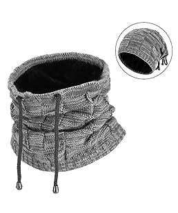 VBIGER Bonnet Homme Femme Hiver Écharpe Chapeau en Tricot