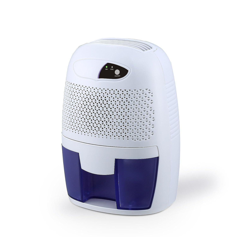 FociPow Compact Portable Electric Mini Dehumidifier for Living Room Bathroom Kitchen Garage