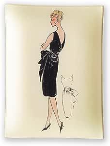 Amazon.com: Rosanna Parisian Fashion Decoupage Tray, Black