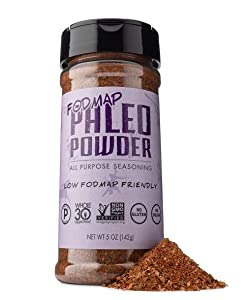 Paleo Powder Fodmap All Purpose Seasoning | The Original Low Fodmap Paleo Food Seasoning for All Paleo Diets | Certified Keto Food, Paleo, Whole 30, Low Fodmap Food, Gluten Free Seasoning