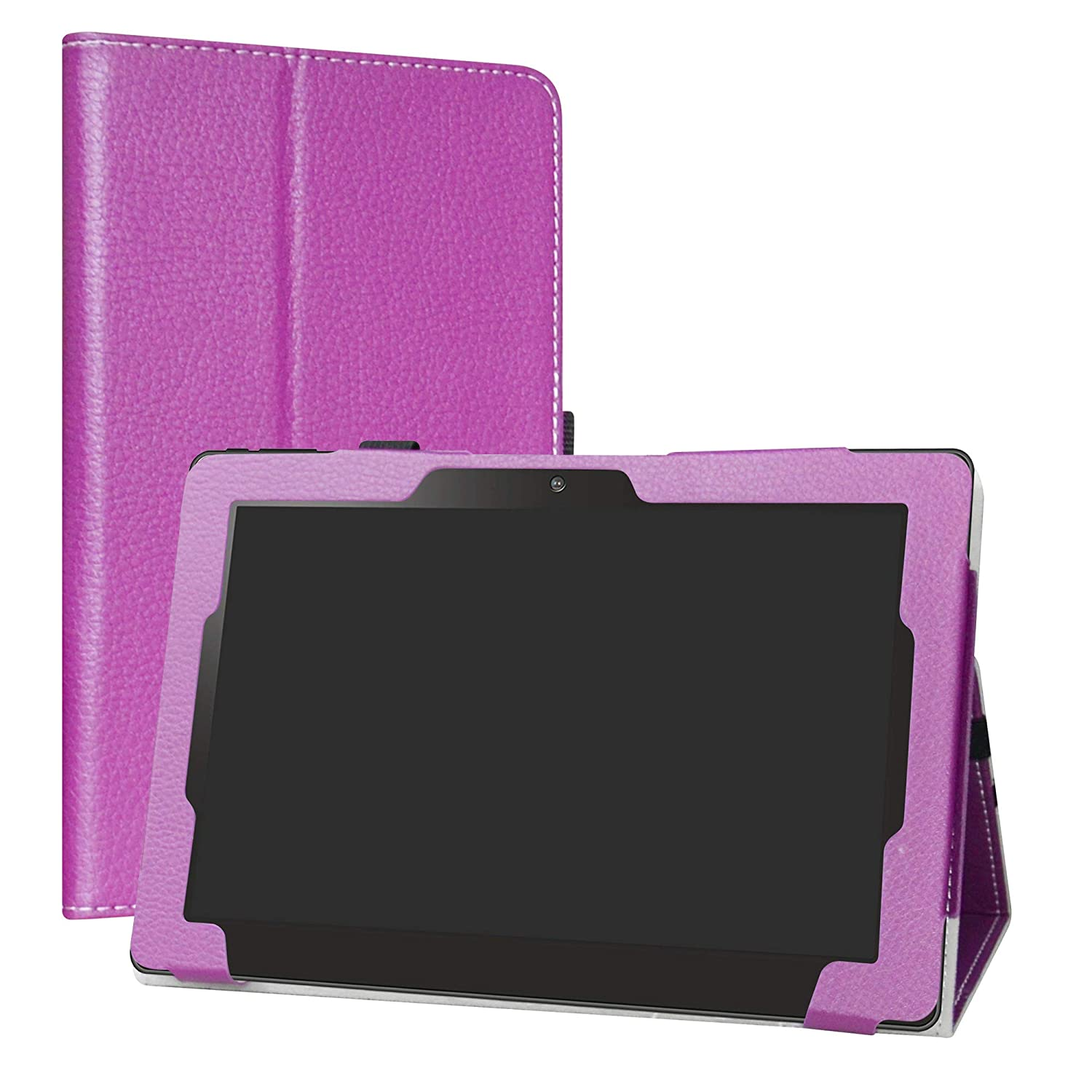 Purple Zaith 10.1 inch 2in1 Case,Labanema Stand Folio Case Cover for Zaith 10.1 inch 2in1 Tablet