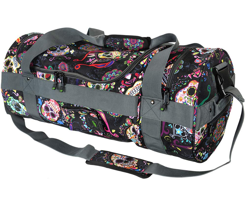 Planet Eclipse Paintball Holdall Gear Bags (Sugar Skull Black) by Planet Eclipse