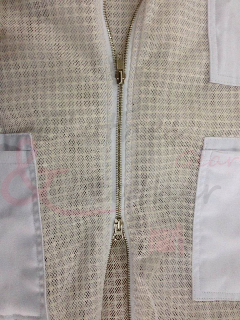 Ultra Ventilated Beekeeping Jacket With fancy Veil (XXL) by Clothes & Leather Gear (Image #3)