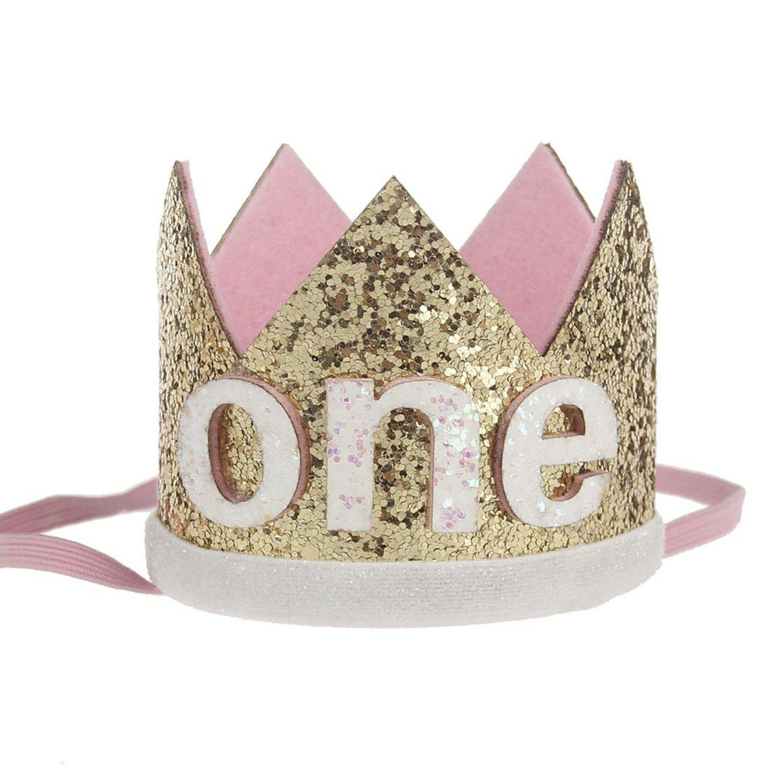 JMITHA Bébé Fête d'anniversaire Bandeaux de couronne bandeau de cheveux bébé fille avec fleur Photographie Belles Fleur Cheveux Accessoires Couronne Bande de cheveux