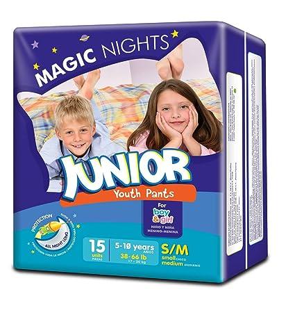 Moltex Magic Nights Youth Pants Bolsa de Braguitas de Noche - 15 Braguitas