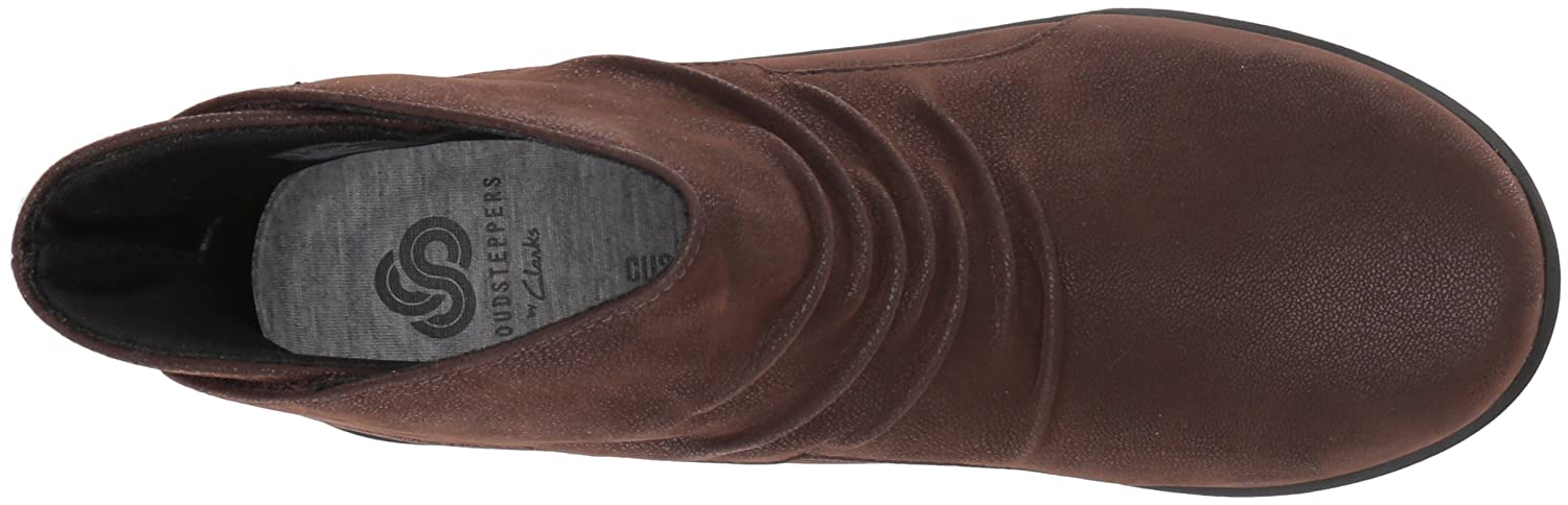 CLARKS Women's Sillian Sway Ankle Bootie B01MRX4HVY 8.5 B(M) US|Brown