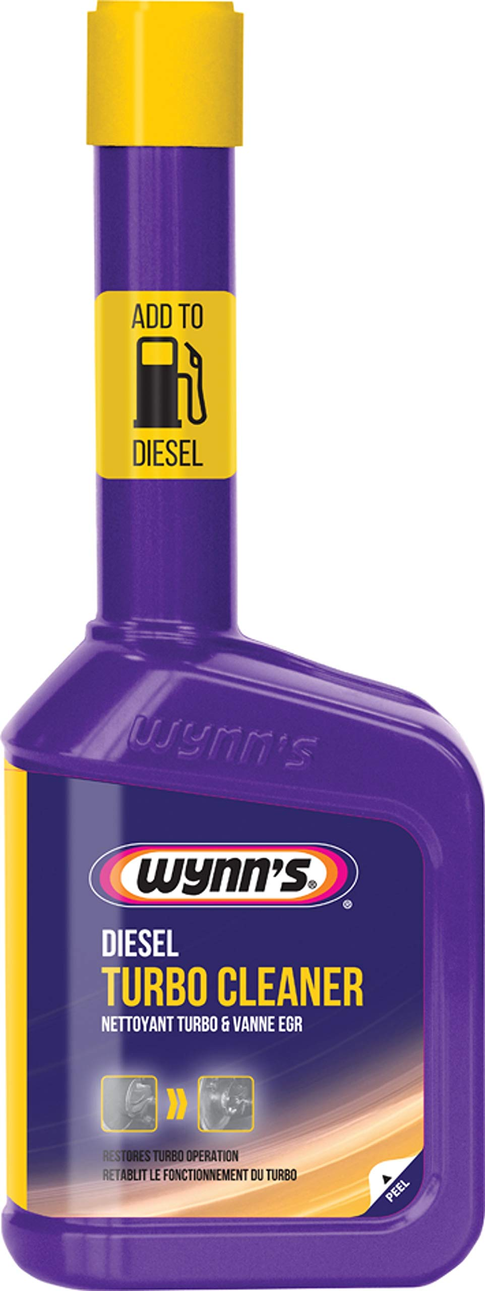 Fastcar Wynn's Diesel Turbo Cleaner Restores Engine Power 10.99 oz | for All Diesel Engines Clears Blocked Turbochargers by Fastcar