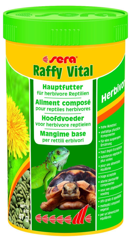 Sera Raffy Vital - Schmackhafte Kräutervielfalt für Herbivore Reptilien 41987 Aquarien Aquaristik Fische