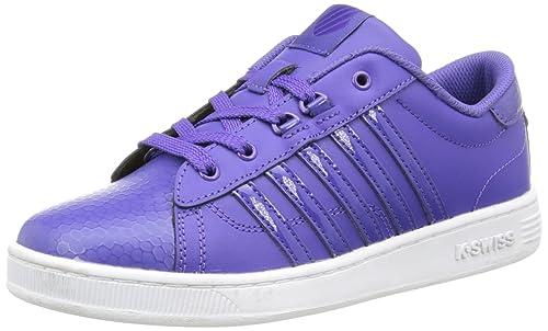 K-Swiss Hoke J Sneakers, Unisex - Bambini, Viola (Liberty/White), 37