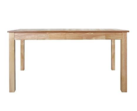 Furniture 247 - Tavolo da pranzo a 6-8 posti in rovere naturale ...