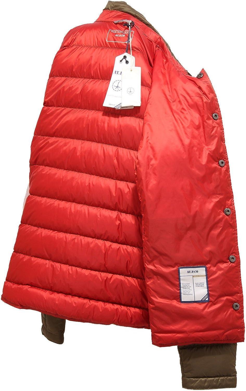 AT.P.CO 4613R Giubbotto Uomo Giubbino Piumino Verde Jacket