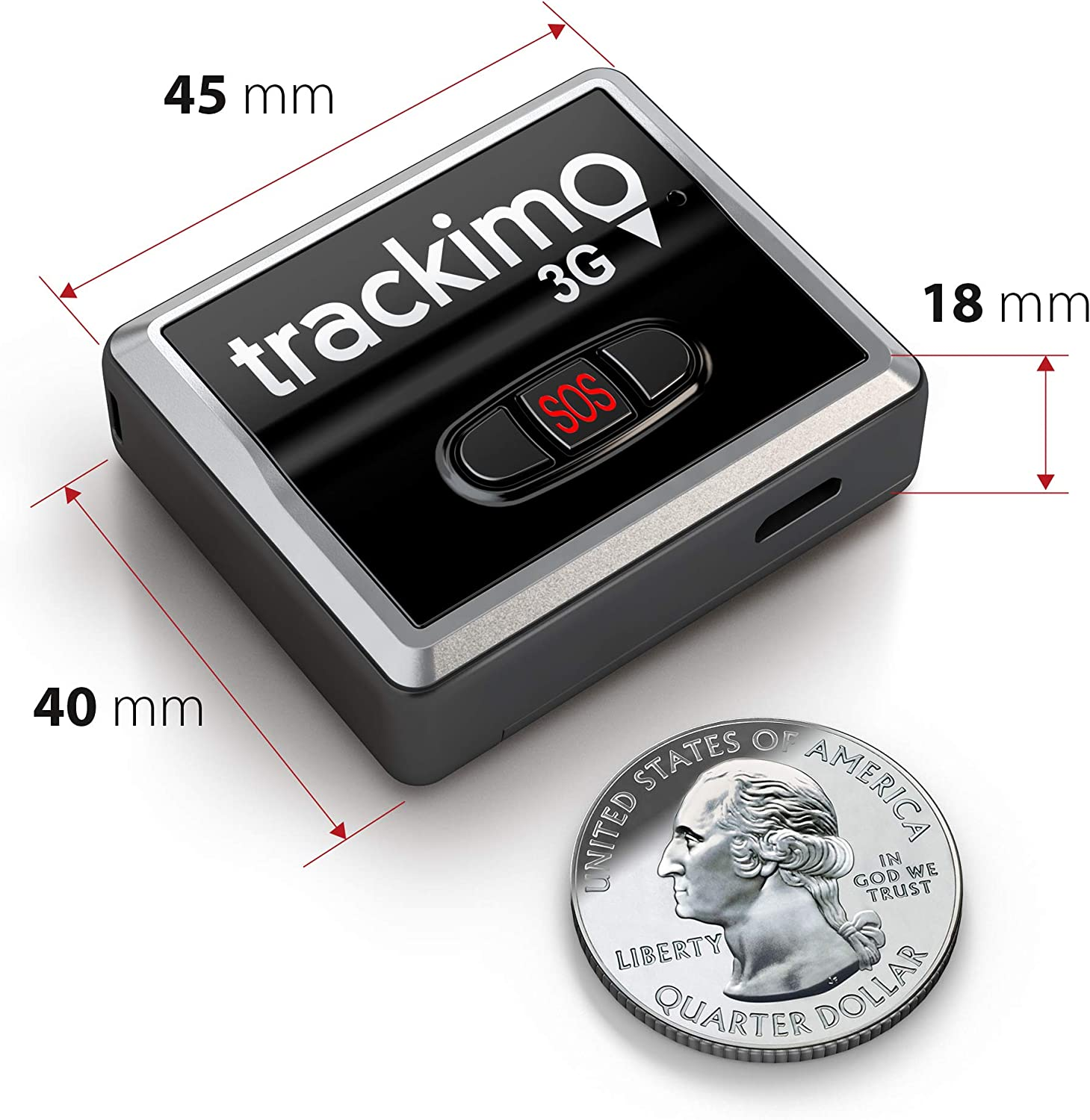 2020 Model GPS Tracker only Nothing Else is Included Tracki GPS Tracker No Accessories Factory Refurbished