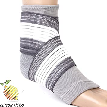 1d3c5c8f587be Foot Compression Sock (Bamboo Fiber) by Lemon Hero. Targeted Relief from  Foot Pain