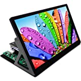 Corkea 10.6 Zoll 1080P IPS Monitor Lcd Screen Display HDMI VGA USB Input 19201080 With Case and Stand