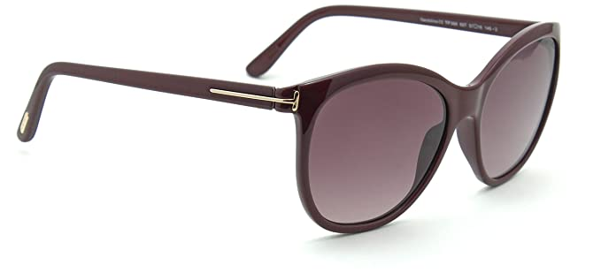 f132bcdc73 Image Unavailable. Image not available for. Color  Tom Ford FT 0568  GERALDINE-02 Women Oval Gradient Sunglasses 69T