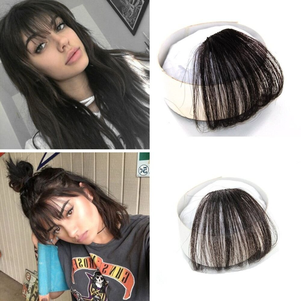 Ugeat Fashion Air Fringe Remy Human Hair