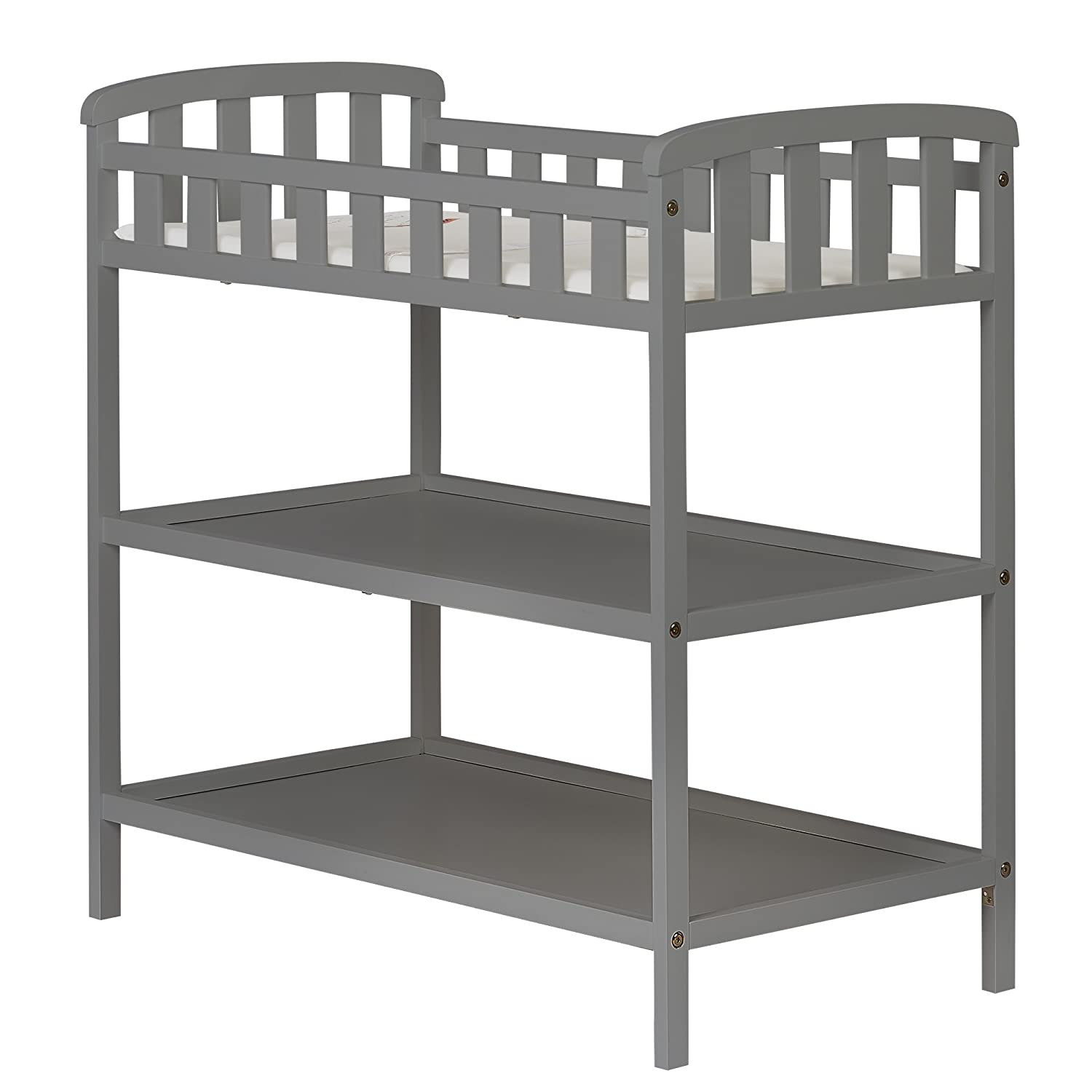 Dream On Me Emily Changing Table, Steel Grey
