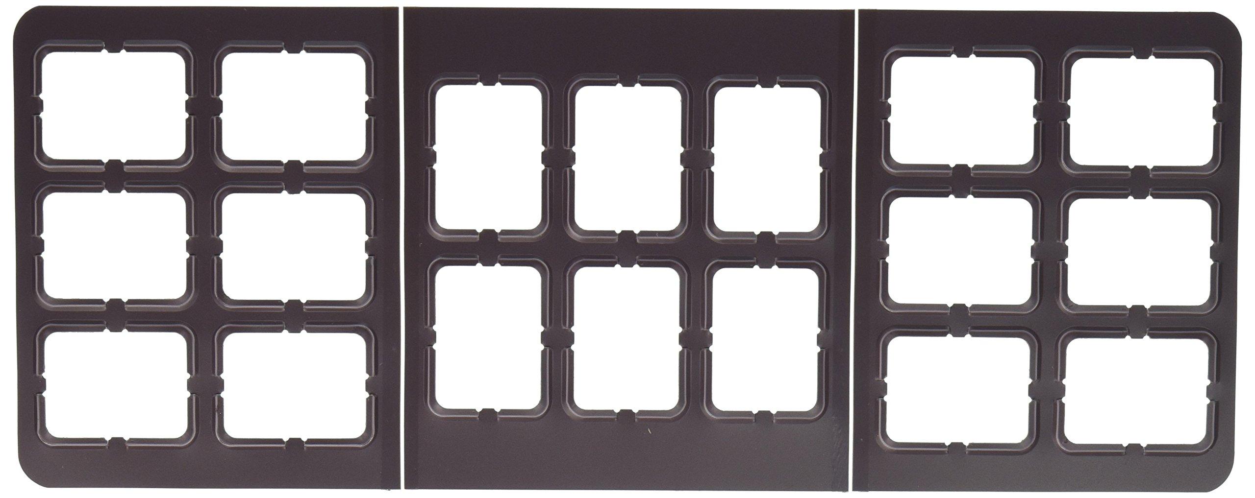 Dentsply Rinn 762131 Film #2 Film Mount, 6V, 8H-4H, BW (Pack of 100)