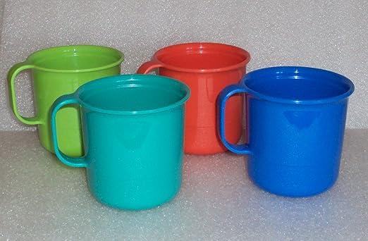 Amazon.com: Tupperware Microondas tazas de café, apilable ...